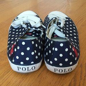 Ralph Lauren Polo Parnell Polka Dot Sneaker 7